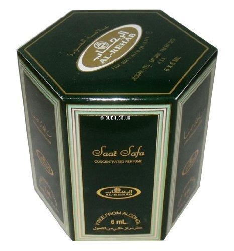 Saat Safa Perfume Oil - 6 x 6ml by Al Rehab