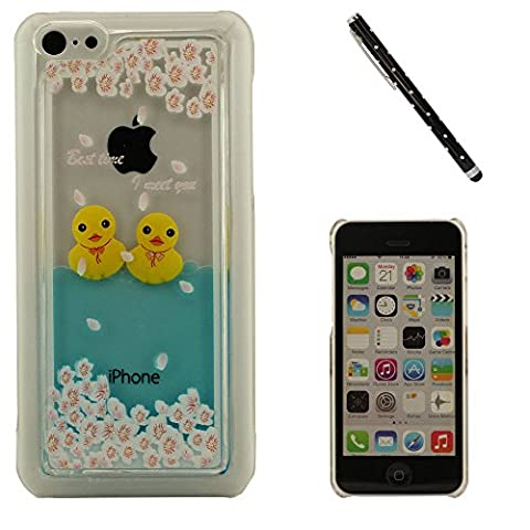 À la mode Coque Case pour iPhone 5C + S-pen,