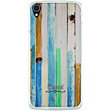 Funda Gel Alcatel OneTouch Idol 3 5.5 BeCool Seaside Wood
