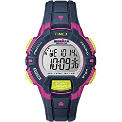 Ironman Unisex Digital Watch with LCD Dial Digital Display and Resin Strap T5K809