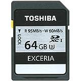 Toshiba Exceria Carte mémoire SDXC 64 Go (UHS-I, U3)