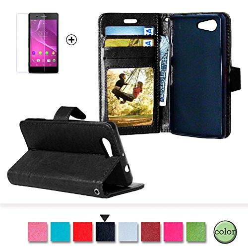 Sony Xperia Z3 Compact/Mini Funda [Regalos gratis protector de pantalla], Funyye Prima...