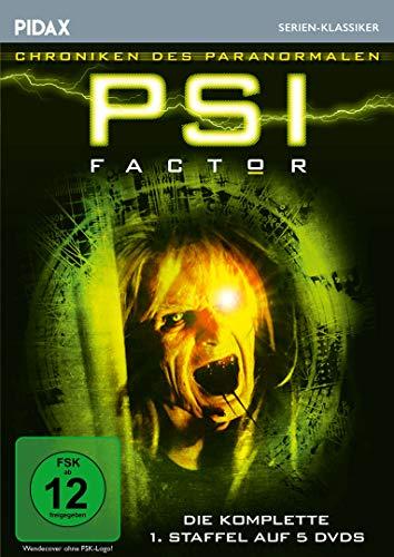 PSI Factor - Chroniken des Paranormalen, Staffel 1 / 22 Folgen der Mystery-Kultserie (Pidax Serien-Klassiker) [5 DVDs]
