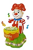 #7: Bump and Go Drumming Clown Toy with Lights and Music