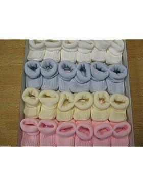 Schühchen/Stiefelchen für Baby/Neugeborene, Jungen und Mädchen, Strick, S 0–3Monate