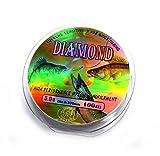 Best Stren Monofilament Fishing Lines - Diamond No.:5.0 100M Nylon Monofilament Fishing Line (Clear) Review