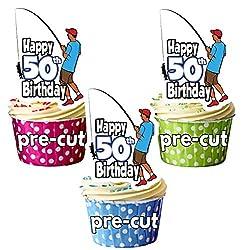 50th Birthday Cake Decorations Male