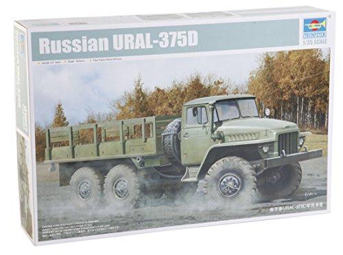 Trumpeter 01027 - Modellbausatz Russian URAL-375D