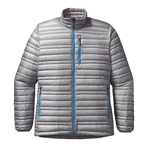 Patagonia M Ultralight Down Jacket - Drifter Grey - L - Leichte isolierte Herren Daunenjacke (Ultralight Down Jacket)