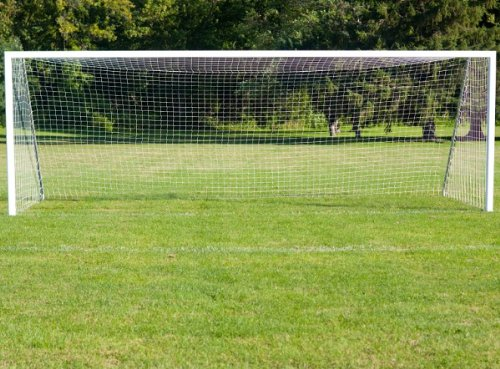 Wollowo 12ft x 6ft 7-a-side Football Soccer Goal Replacement Net