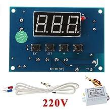 haia7k4k termostato digital K-Type módulo AC 220V/DC 12/24V 30°