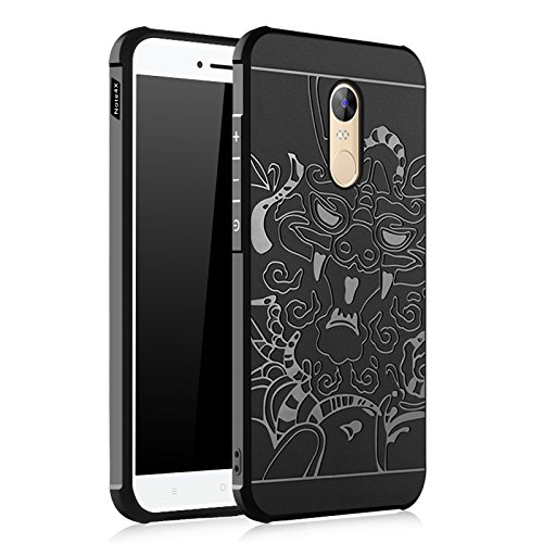 SMTR Funda para Xiaomi Redmi Note 4X, Slim Silicona Case, Azul