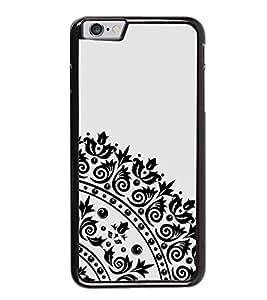 FUSON Ornamental Round Damask Arabesque Designer Back Case Cover for Apple iPhone 6 Plus :: Apple iPhone 6+