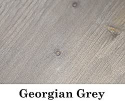 Village Green Ready To Use Wood Stain - Wood Dye - 28 Colours - Super High Pigment Content Water Based (250ml, Georgian Grey)