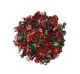 AVEELO | Dofta | Deko | Raumduft | Potpourri | Lufterfrischer | Blüten | Natur | Getrocknete Blumen | Rot