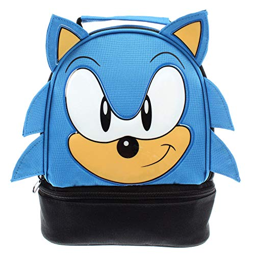 Sega Sonic The Hedgehog Lunch Bag Big Face Dual Compartment Lunch Box Kit Buy Online In Barbados Missing Category Value Products In Barbados See Prices Reviews And Free Delivery