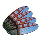Golden Gate Bridge San Francisco CA Oval Nail File Emery Board 4 Pack