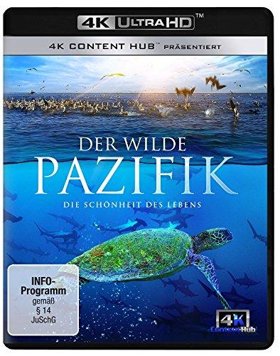 Preisvergleich Produktbild Der wilde Pazifik 4K - Die Schönheit des Lebens 4K UHD [Ultra HD Blu-ray]