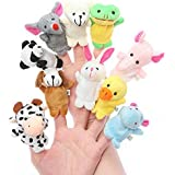 Tingoking Cute Animal Finger Puppets ( Pack Of 10)