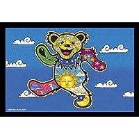 2 x Dan Morris / GDP Grateful Dead - Dancing Bear Cartolina Postale Postcards - 6'' x 4'' Inches