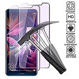 2 x Huawei Mate 10 Pro Verre Trempé Protecteur D'écran, EJBOTH 2,5 D Lumière Anti-bleue Protection écran Films Protecteurs Pour Huawei Mate 10 Pro - 0,26 MM Ultra-mince avec dureté 9H.
