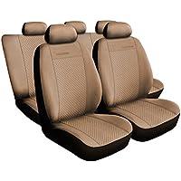 Coprisedili per auto (Mossa) 5902538169738 Universale Set Coprisedili Auto Ecopelle Alcantra