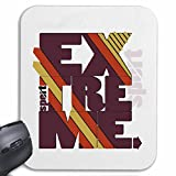 Tapis de souris Mousepad (Mauspad) EXTREME SPORTS BODYBUILDING GYMNASE Musculation GYMNASE muskelaufbau SUPPLEMENTS WEIGHTLIFTING BODYBUILDER pour votre ordinateur portable, ordinateur portable ou PC