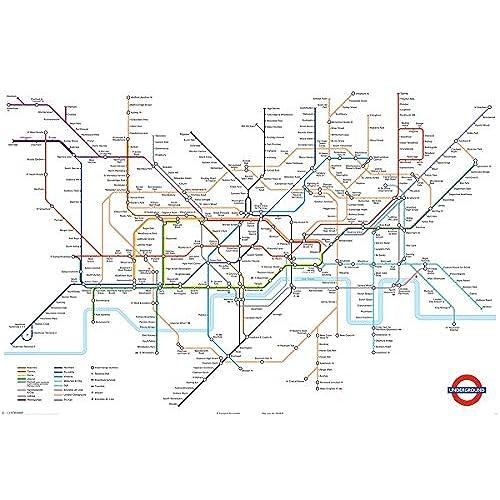 london tube map amazoncouk