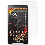 atFolix Schutzfolie kompatibel mit Acer Iconia Talk S A1-724 Bildschirmschutzfolie, HD-Entspiegelung FX Folie (2X)