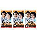 #5: Bigen Powder Hair Color, Oriental Black N10 - Pack of 3 (Combo Set)