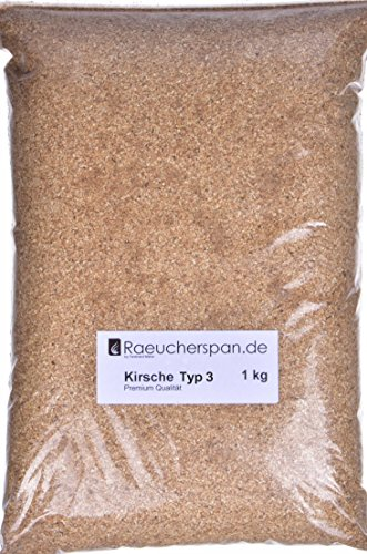Räucherspäne Räuchermehl Kirsche Kirschholz Typ 3, 1kg
