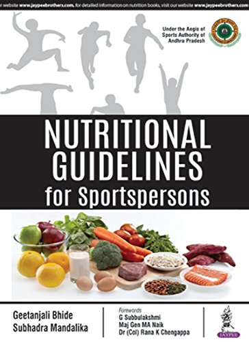 Nutritional Guidelines for Sportspersons