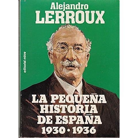 La pequeña historia de España: 1930-1936