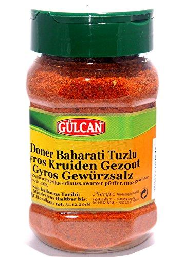 Grill-master-teile (Gülcan - Döner Gyros Gewürzsalz (250g))
