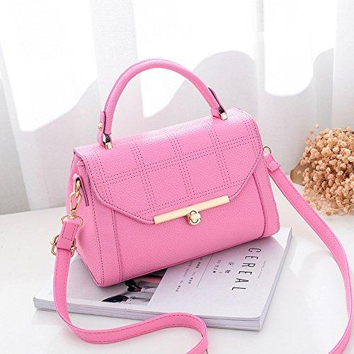 GUANGMING77 _ Piccola Borsa Bag Spring Tide,Claret Pink