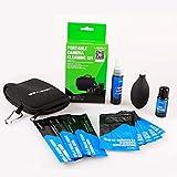 VSGO Kit de Limpieza de Cámara Limpiador Blower Profesional 3x APS-C Frame Sensor Cleaning Swab + 5x Ropa de Limpiar + Cleaner de Lente y de Pantalla + Bolsa para DSLR Cameras Canon Nikon Pentax Sony DC515
