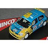 "SCX Scalextric Slot Ninco 50377 Renault Clio Super 1600 ""Rally Ypres"""