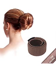 NALATI **Frühling Mode Frisur** Damen Fashion Haarstyling Tool Donut Hair Bun Maker & Fashion Haare Dutt Styling Werkzeug-Brautfrisur Brautschmuck Haarknoten Frisurenhilfe Haarzopf - Perfekt für lange und dicke Haare