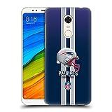 Head Case Designs Offizielle NFL Helm New England Patriots Logo Ruckseite Hülle für Xiaomi Redmi 5 Plus