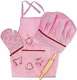 Bigjigs Toys Pink Chef's Set