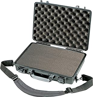 "Peli 1470- Maleta rígida con espuma protectora para portátiles de 13"", negro (B000M5178W) 