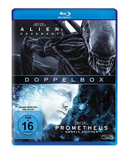 Bild von Prometheus & Alien: Covenant [Blu-ray]
