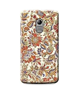 Be Awara Multicolor Floral Art Designer Mobile Phone Case Back Cover For Lenovo K4 Note