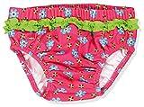 Playshoes Baby - Mädchen Schwimmwindel Badewindel, Badehose Blumen, UV-Schutz nach Standard 801 und Oeko-Tex Standard 100, Gr. 74 (Herstellergröße: 74/80), Mehrfarbig (original 900)
