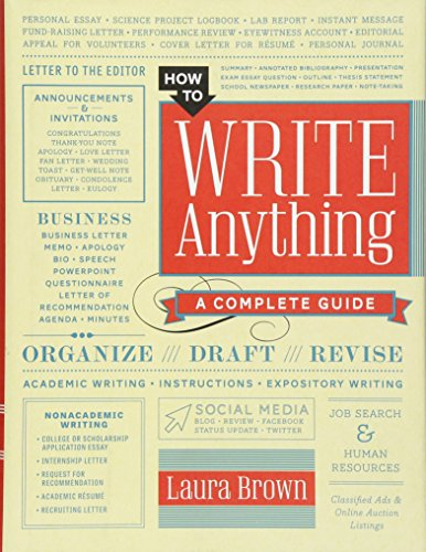 How to Write Anything: A Complete Guide