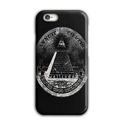 Illuminati Pyramide Dreieck Kunst iPhone 6 / 6S Hülle | (Machen Bh Paar Kostüm)