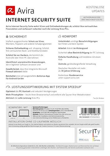 Avira Internet Security Suite 2017 [4 Geräte / 1 Jahr] - 3