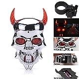 Best Bike Lane Lights - MarketBoss Cool Skull Bike Cycling LED Laser Light Review