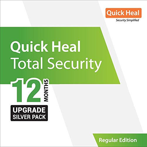 Quick Heal Total Security Renewal Upgrade Silver Pack - 1...