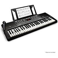 Alesis Melody 54 - Tragbares 54-Tasten Keyboard mit eingebauten Lautsprechern, 300 integrierten Sounds, 300 integrierten Rhytmen, 40 Demo Songs, beeindruckenden Lernwerkzeuge, Mikrofon, Notenablage
